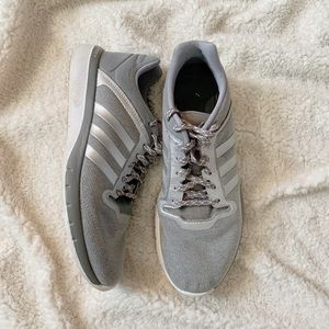 Light Grey Adidas Sneakers